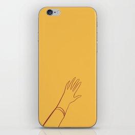 Yellow Hand iPhone Skin