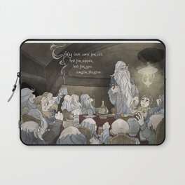 They've come for tea, & for supper, & for you Laptop Sleeve