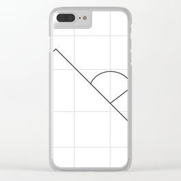 Apex on Grid V2 Clear iPhone Case