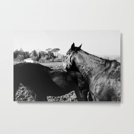 Together, but alone. Metal Print