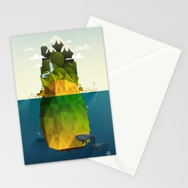 Pineapple isle Stationery Cards