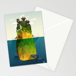 Pineapple isle Stationery Cards