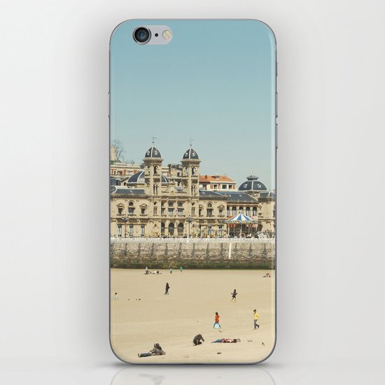 The City Hall and The Beach iPhone & iPod Skin