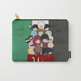SYRIA - We're With You Carry-All Pouch