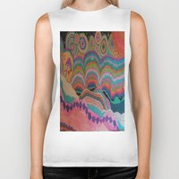 trippy Biker Tanks featuring Trippy by sheuh