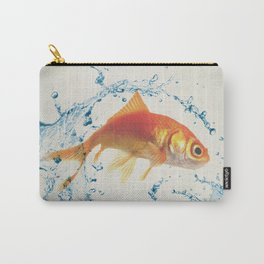 Two Dimensional Freedom Carry-All Pouch