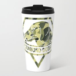 Diamond Camouflage Travel Mug