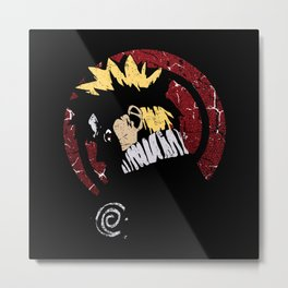 Art of Ninja Metal Print