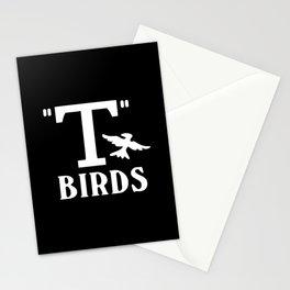 T birds music design Stationery Cards