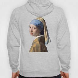 Johannes Vermeer Girl With A Pearl Earring 1665 T Shirt, Art Hoody