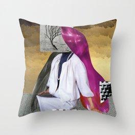 faceplant Throw Pillow