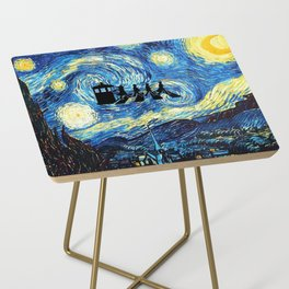 The Doctors Walking Of Starry Night Side Table