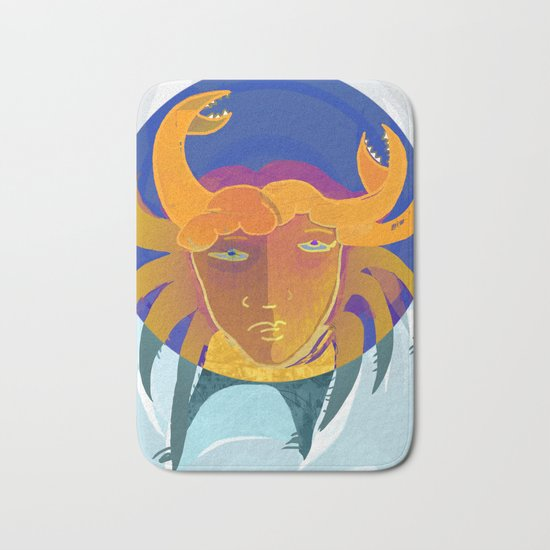 Cancer / Altarf / Zodiac Bath Mat