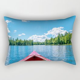 Just Keep Paddling Rectangular Pillow