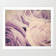lavender. Art Print