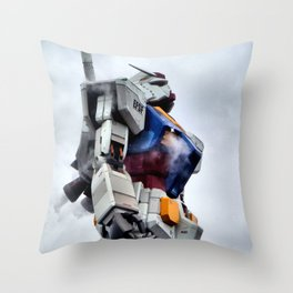 Gundam Pride Throw Pillow