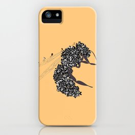 Seeds and the wasp iPhone Case