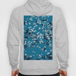 Blue Ocean Glitter Stars #1 #shiny #decor #art #society6 Hoody