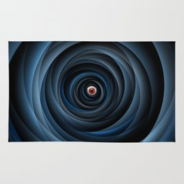 Eye of the cyclone Rug