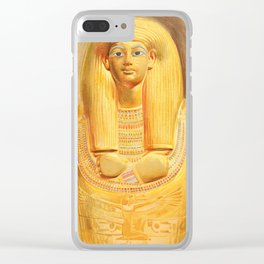 Carter, Howard (1874-1939) - The Tomb of Iouiya & Touiyou 1907, Outer coffin of Touiyou Clear iPhone Case