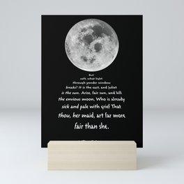 Moon Bridge Shakespeare Mini Art Print