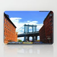bridge iPad Cases featuring Bridge by Brown Eyed Lady