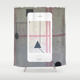 Sum Shape - iPhone graphic Shower Curtain