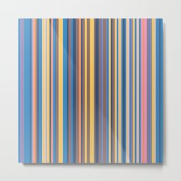Stripe obsession color mode #6 Metal Print