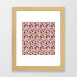 Budgies and Cockatiels Framed Art Print