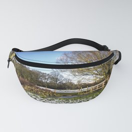 A Cold Morning in Tidmarsh Meadows Fanny Pack