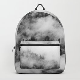 Fog Forest in Black and White – Landscape Photography Backpack