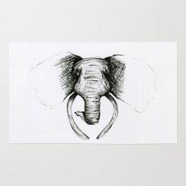 Sketch Elephant Rug