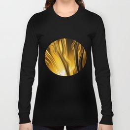Streaming Liquid Gold, A brilliant fire. Long Sleeve T-shirt