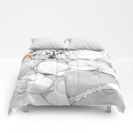 2 Girls having Fun Comforters