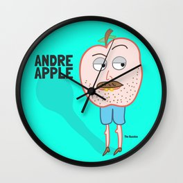 Andre Apple Wall Clock