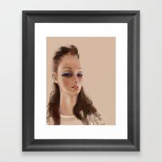 Cr4stal  Framed Art Print