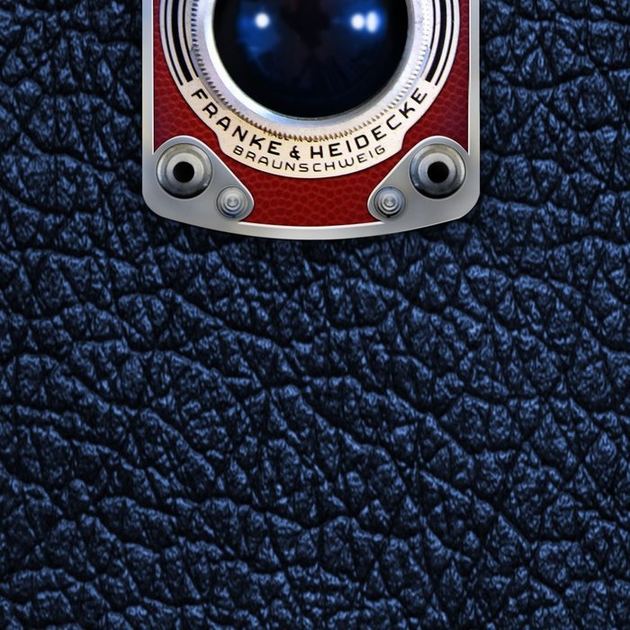 Red Retro Camera Leggings