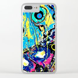Electric Breakfast Clear iPhone Case