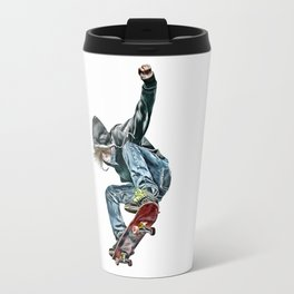 Skateboarder Travel Mug