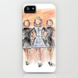 Irish Dancers iPhone Case