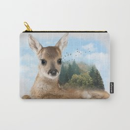 Baby Roe Deer Carry-All Pouch