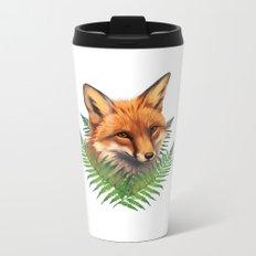 Fern Fox Metal Travel Mug