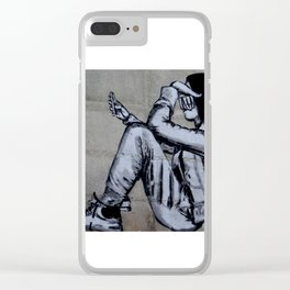 Unchained Clear iPhone Case