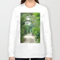 cape cod Long Sleeve T-shirts featuring Lover's Arch, Cape Cod by JezRebelle