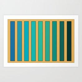 gradient2 Art Print