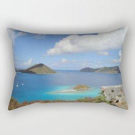 Water Lemon Cay, St. John, Virgin Islands Rectangular Pillow