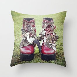 Jeffrey Campbell Tardys Throw Pillow