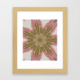 Floral print Framed Art Print
