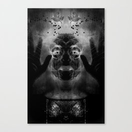 By the light of MY cauldron Canvas Print