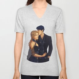 Feyre and Rhysand Unisex V-Neck